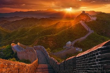 Great Wall Panorama by Peter Lik