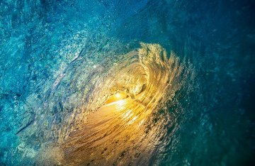 Ocean Glow  Panorama by Peter Lik
