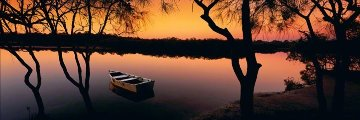 River AP Noosa River Queensland Australia Panorama by Peter Lik