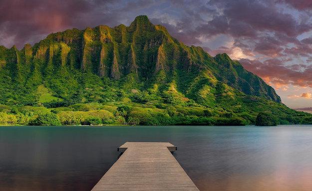 Island Bliss Panorama by Peter Lik
