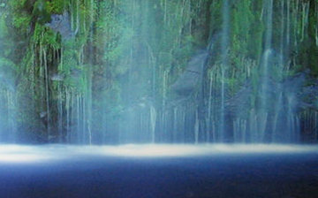 Tranquility (Mossbrae Falls California) 1,5M Huge Panorama - Peter Lik
