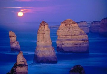 12 Apostles Marine National Park Victoria AP Panorama by Peter Lik