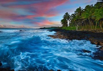 Coastal Palette (Big Island, Hawaii) Panorama by Peter Lik