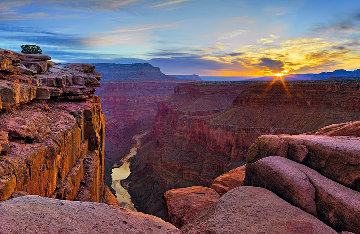 Blaze of Beauty (Grand Canyon, AZ) Panorama by Peter Lik