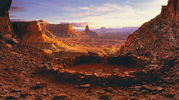 Ancient Spirit Canyonlands, NP Utah) Panorama - Peter Lik