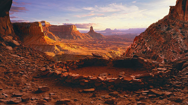 Ancient Spirit Canyonlands, NP Utah) Panorama by Peter Lik