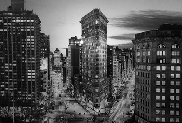 The Iron (Chicago) Panorama by Peter Lik