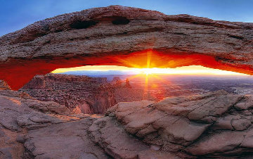 Sacred Sunrise  (Canyonlands NP, Utah) 1.5M Huge  Panorama - Peter Lik