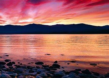 Crimson Panorama by Peter Lik