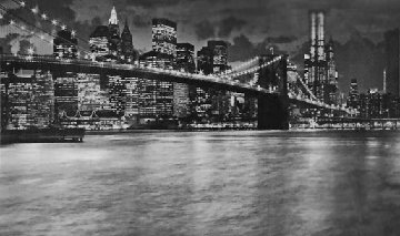 City of Lights New York Panorama by Peter Lik