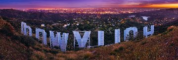 Hollywood Nights Panorama by Peter Lik