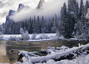 Mystic Valley (Yosemite, California) Panorama by Peter Lik