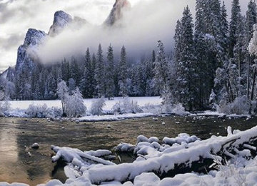 Mystic Valley (Yosemite, California) 1.5M Huge! Panorama - Peter Lik