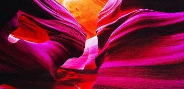 Angel\'s Heart (Antelope Canyon, AZ) Panorama - Peter Lik