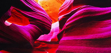 Angel's Heart (Antelope Canyon, AZ) Epic Super Huge! Panorama - Peter Lik