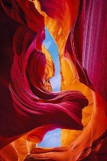 Eternal Beauty   Antilope Canyon Arizona 1.5M Huge! Panorama - Peter Lik