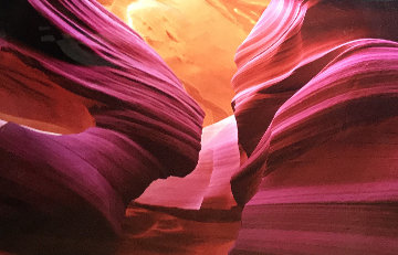 Angel's  Heart (Antelope Canyon, AZ) 2M Huge! Panorama - Peter Lik