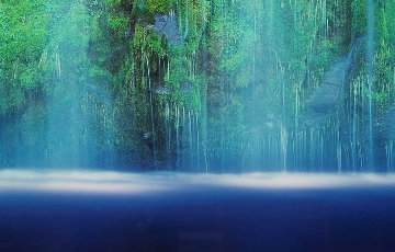 Tranquility  (Mossbrae Falls California)  Panorama by Peter Lik