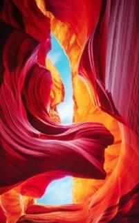 Eternal Beauty   Antilope Canyon Arizona AP 2011 Panorama by Peter Lik