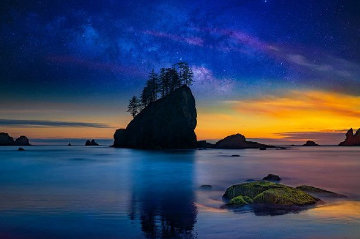 Island in the Sky Panorama - Peter Lik
