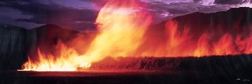 Cane Fire (Artist Proof, 7/10) Panorama by Peter Lik