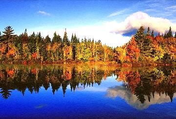 Fall Reflections Panorama by Peter Lik