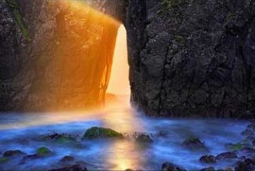 Temple of the Sun Panorama by Peter Lik