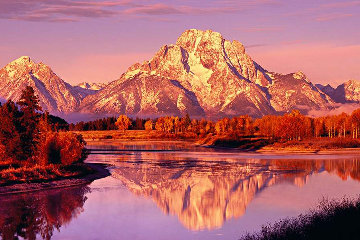Majestic Morning Panorama by Peter Lik