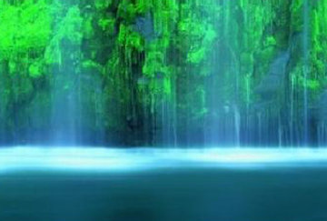 Tranquility  (Mossbrae Falls California) Epic SupervHuge Panorama - Peter Lik