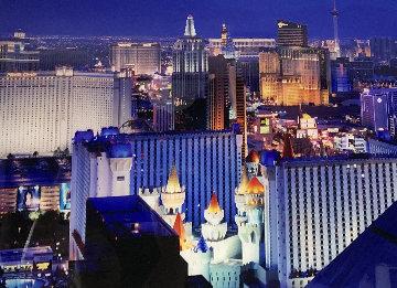 Desert Lights 1.5M Huge! Panorama - Peter Lik