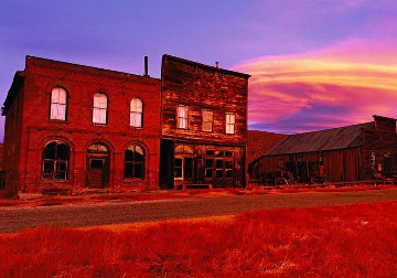 Bodie Ghost Town AP 2008 Panorama by Peter Lik