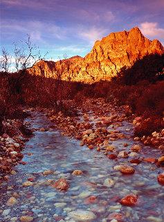 Desert Stream (Red Rock Canyon, Nevada) 40x14 Huge  Panorama - Peter Lik