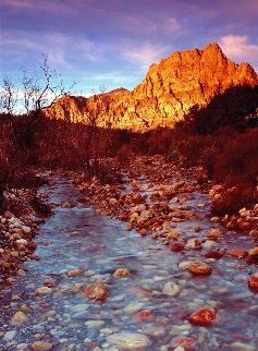 Desert Stream (Red Rock Canyon, Nevada) 40x14 Super Huge  Panorama - Peter Lik