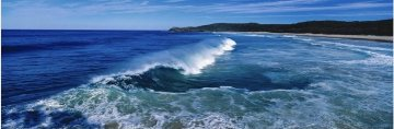 Noosa Swell Panorama by Peter Lik
