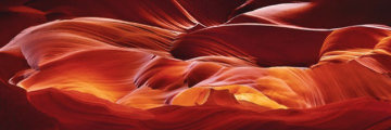 Crimson Tides Panorama by Peter Lik