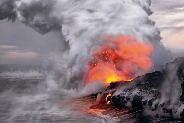 Pele's Whisper  Panorama by Peter Lik
