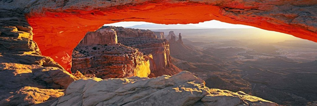 Echoes of Silence (Canyonlands National Park, Utah) 2006 Panorama by Peter Lik