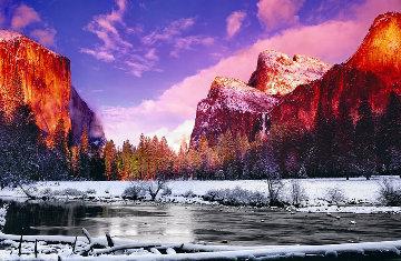 Icy Waters (Yosemite NP, California) 1.5M Huge! Panorama - Peter Lik
