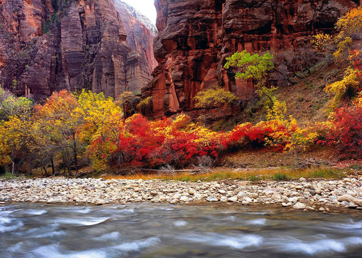 Temple of Sinawa (Zion National Park, Utah) Panorama by Peter Lik