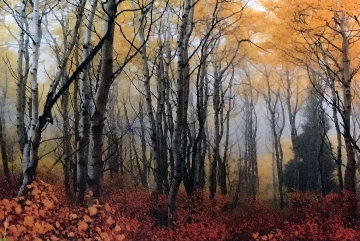 Autumn Mist 1.5M Huge Panorama - Peter Lik
