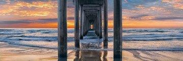 Coastal Dreams AP La Jolla Panorama by Peter Lik