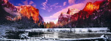 Icy Waters (Yosemite NP, California) 2002 Panorama by Peter Lik
