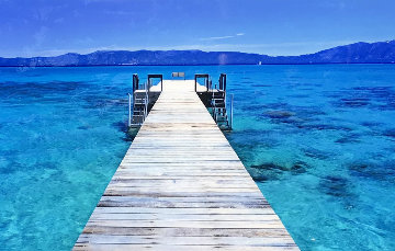 Tahoe Jetty 1.5M Huge Panorama - Peter Lik