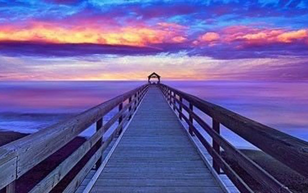 Sunset Dreams Panorama by Peter Lik