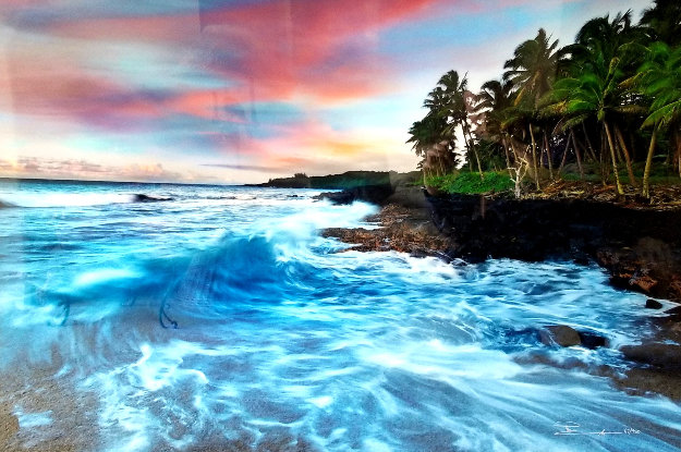 Coastal Palette (The Big Island, Hawaii) Panorama by Peter Lik