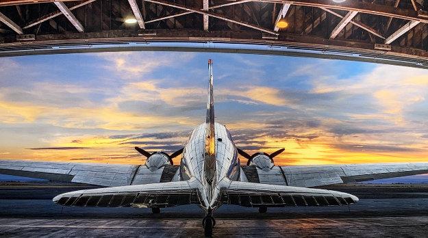 First Flight 2017 Panorama by Peter Lik