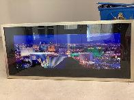 Desert Lights 1.5M Huge!  Las Vegas Panorama by Peter Lik - 2