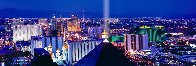 Desert Lights 1.5M Huge!  Las Vegas Panorama by Peter Lik - 1