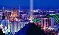 Desert Lights 1.5M Huge!  Las Vegas Panorama by Peter Lik - 0