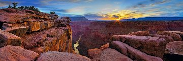 Blaze of Beauty 1.5M Huge! Panorama - Peter Lik